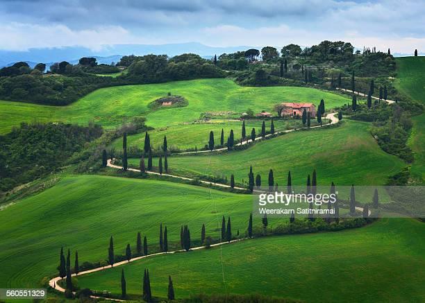 La Foce in Tuscany, Italy