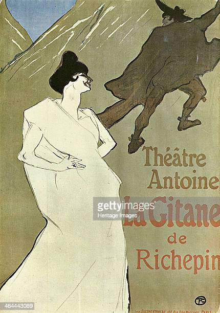 'La Gitane' 18991900 Poster ToulouseLautrec Henri de Found in the collection of the State A Pushkin Museum of Fine Arts Moscow
