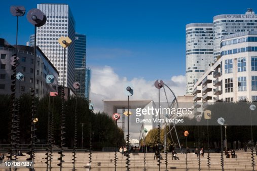 La Grande Arche de la Defense, Paris, France : Stock Photo