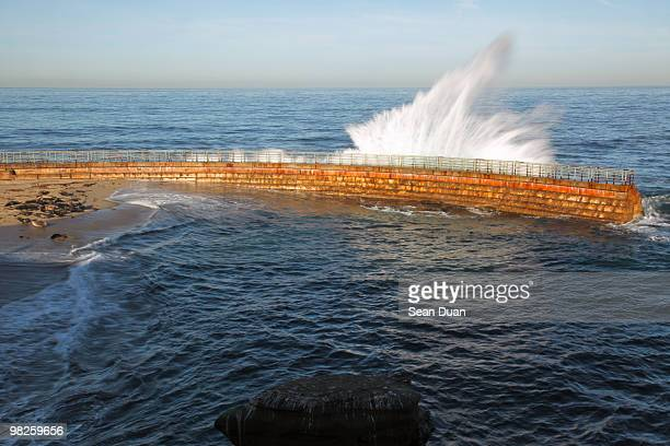 La Jolla Cove Sea Wall