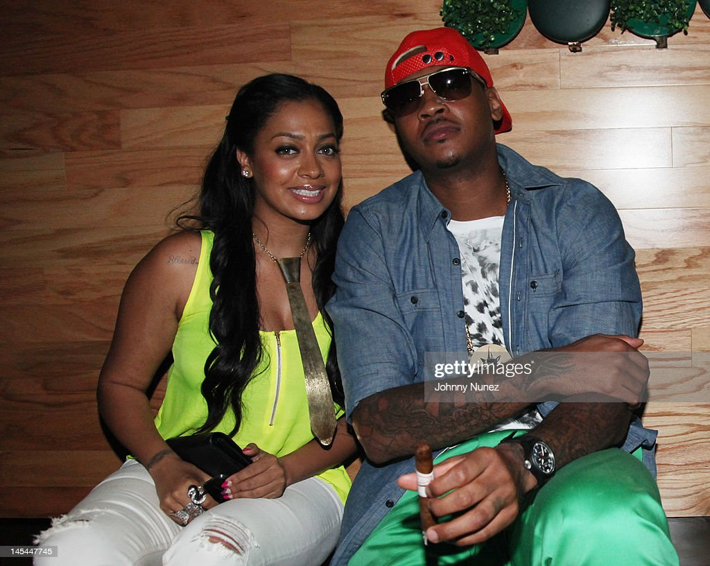<a gi-track='captionPersonalityLinkClicked' href=/galleries/search?phrase=La+La+Anthony&family=editorial&specificpeople=209433 ng-click='$event.stopPropagation()'>La La Anthony</a> and <a gi-track='captionPersonalityLinkClicked' href=/galleries/search?phrase=Carmelo+Anthony&family=editorial&specificpeople=201494 ng-click='$event.stopPropagation()'>Carmelo Anthony</a> attend Greenhouse Tuesdays at Greenhouse on May 29, 2012 in New York City.