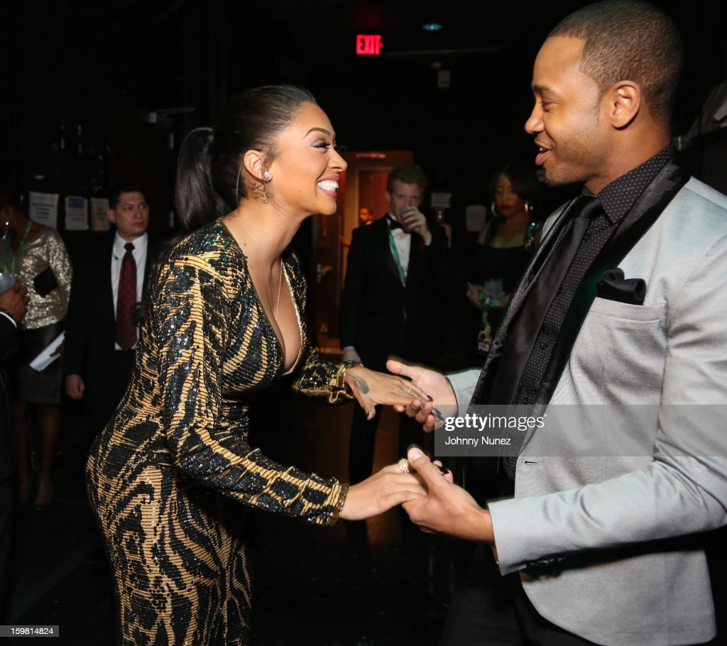 La La Anthony and Terrence J attend The Hip-Hop Inaugural Ball II at Harman Center for the Arts on January 20, 2013 in Washington, DC.