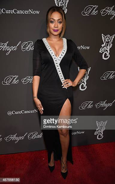 La La Anthony attends Angel Ball 2014 hosted by Gabrielle's Angel Foundation at Cipriani Wall Street on October 20 2014 in New York City