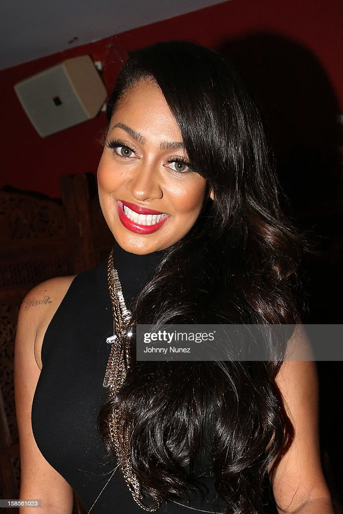 La La Anthony attends Best Buy Theater on December 18, 2012 in New York, United States.