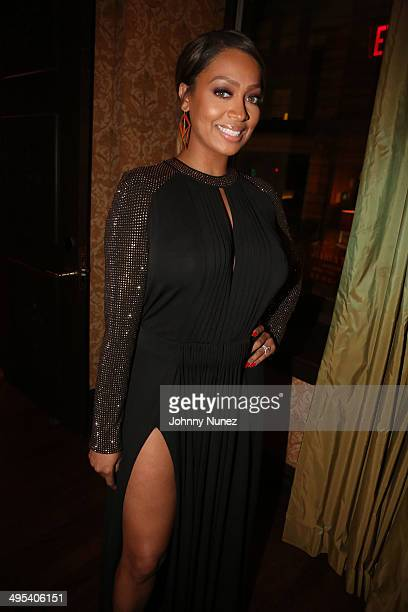 La La Anthony attends Carmelo Anthony's '30 for 30' Birthday Dinner at The NoMad Hotel on June 2 2014 in New York City