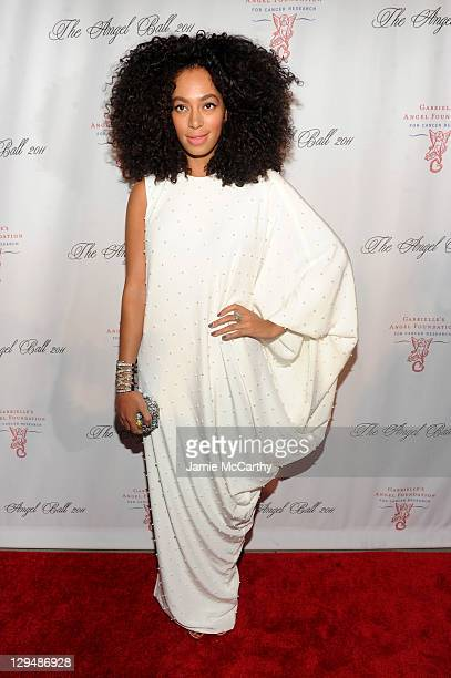 La La Anthony attends Gabrielle's Angel Foundation for Cancer Research Hosts Angel Ball 2011 at Cipriani Wall Street on October 17 2011 in New York...