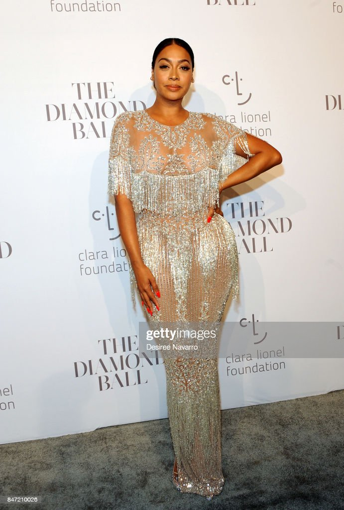 La La Anthony attends Rihanna's 3rd Annual Diamond Ball at Cipriani Wall Street on September 14, 2017 in New York City.