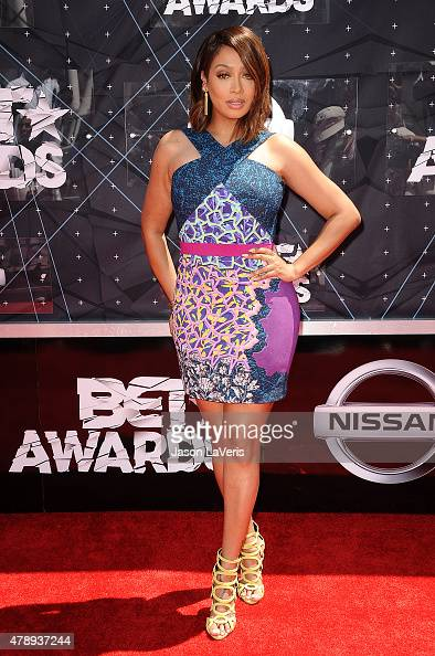 La La Anthony attends the 2015 BET Awards at the Microsoft Theater on June 28 2015 in Los Angeles California