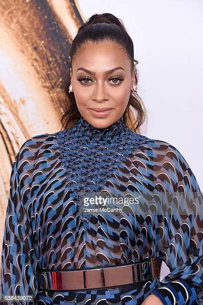 La La Anthony attends the 2016 CFDA Fashion Awards at the Hammerstein Ballroom on June 6 2016 in New York City