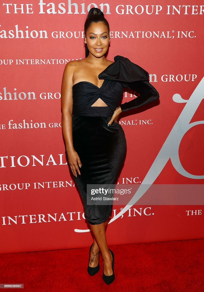 La La Anthony attends the 2017 FGI Night Of Stars Modern Voices gala at Cipriani Wall Street on October 26, 2017 in New York City.