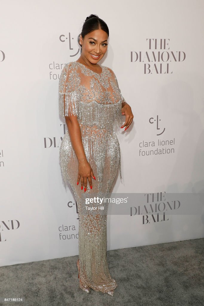 La La Anthony attends the 3rd Annual Diamond Ball at Cipriani Wall Street on September 14, 2017 in New York City.