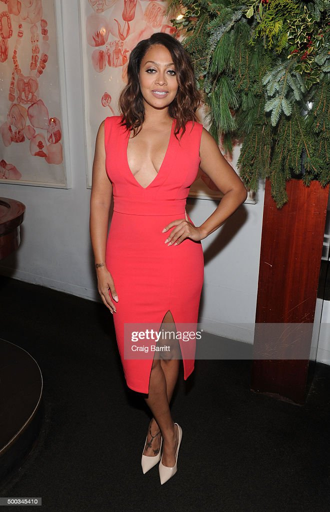 La La Anthony attends The Cosmo 100 luncheon on December 7 2015 in New York City