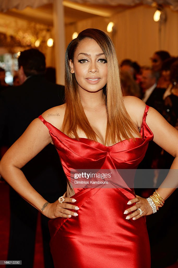La La Anthony attends the Costume Institute Gala for the 'PUNK: Chaos to Couture' exhibition at the Metropolitan Museum of Art on May 6, 2013 in New York City.