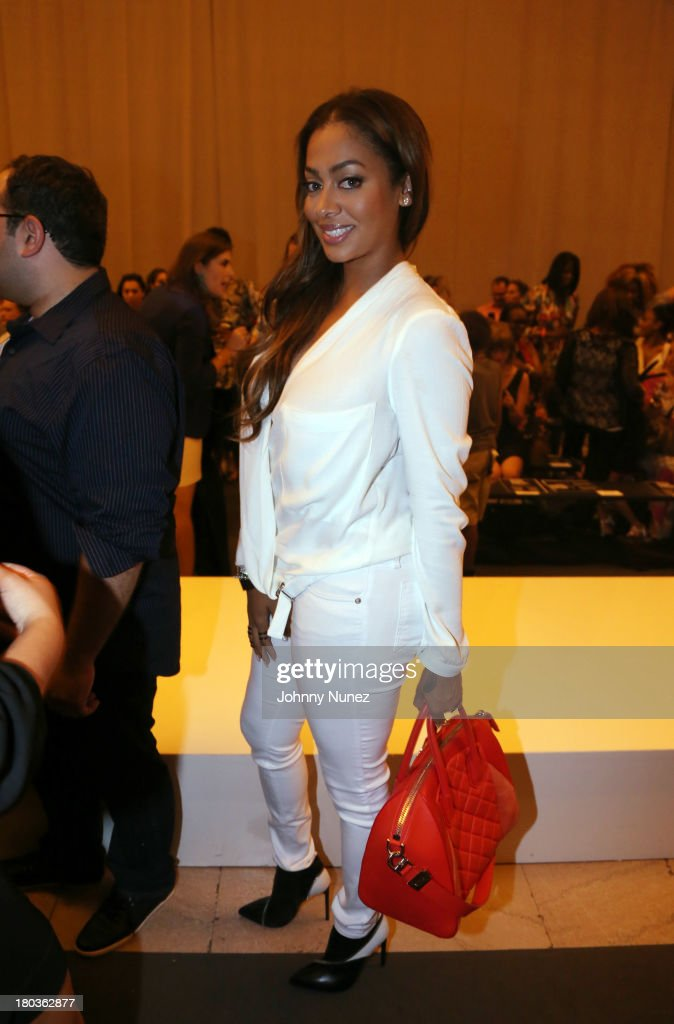 <a gi-track='captionPersonalityLinkClicked' href=/galleries/search?phrase=La+La+Anthony&family=editorial&specificpeople=209433 ng-click='$event.stopPropagation()'>La La Anthony</a> attends the Kids Rock! Celebrity Fashion Show at Grand Central Terminal on September 11, 2013 in New York City.