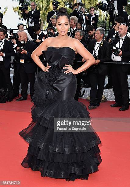 La La Anthony attends the 'Loving' premiere during the 69th annual Cannes Film Festival at the Palais des Festivals on May 16 2016 in Cannes France