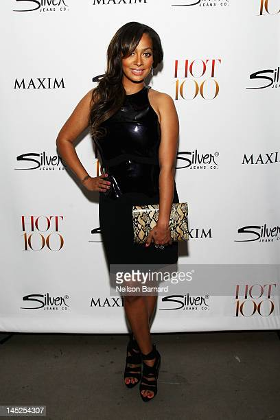 La La Anthony attends the Maxim Hot 100 on May 24 2012 in New York City