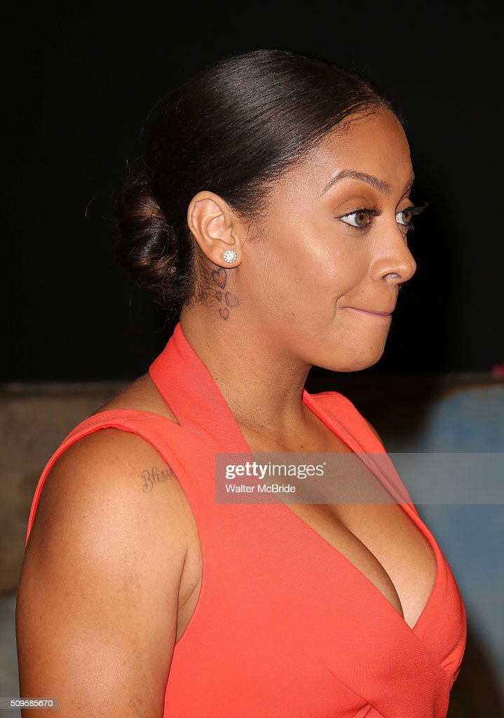<a gi-track='captionPersonalityLinkClicked' href=/galleries/search?phrase=La+La+Anthony&family=editorial&specificpeople=209433 ng-click='$event.stopPropagation()'>La La Anthony</a> attends the meet and greet the all-female cast and creative team and launch of the 10,000 girls initiative of Broadway's 'Eclipsed' at the Golden Theatre on February 11, 2016 in New York City.