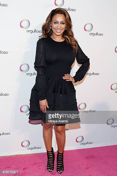 La La Anthony attends the Nueva Latina campaign launch at Helen Mills Event Space on February 26 2014 in New York City
