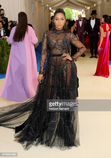 La La Anthony attends the 'Rei Kawakubo/Comme des Garcons Art Of The InBetween' Costume Institute Gala at Metropolitan Museum of Art on May 1 2017 in...