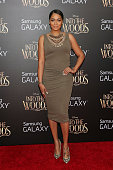 La La Anthony attends the world premiere of Disney's 'Into the Woods' at Ziegfeld Theater on December 8 2014 in New York City