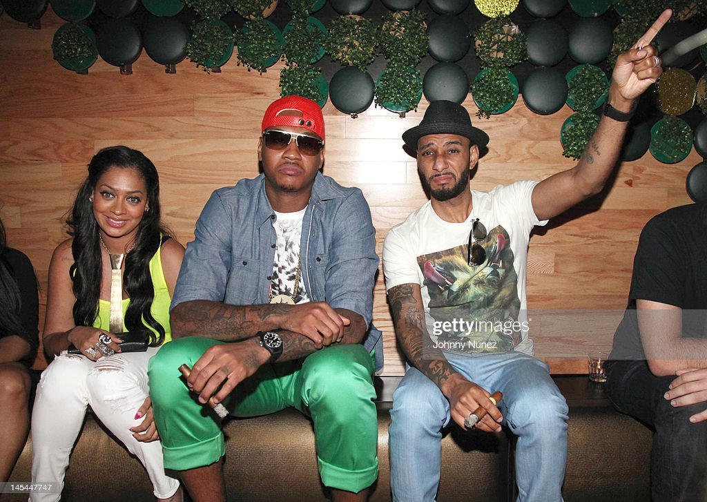 <a gi-track='captionPersonalityLinkClicked' href=/galleries/search?phrase=La+La+Anthony&family=editorial&specificpeople=209433 ng-click='$event.stopPropagation()'>La La Anthony</a>, <a gi-track='captionPersonalityLinkClicked' href=/galleries/search?phrase=Carmelo+Anthony&family=editorial&specificpeople=201494 ng-click='$event.stopPropagation()'>Carmelo Anthony</a> and <a gi-track='captionPersonalityLinkClicked' href=/galleries/search?phrase=Swizz+Beatz&family=editorial&specificpeople=567154 ng-click='$event.stopPropagation()'>Swizz Beatz</a> attend Greenhouse Tuesdays at Greenhouse on May 29, 2012 in New York City.