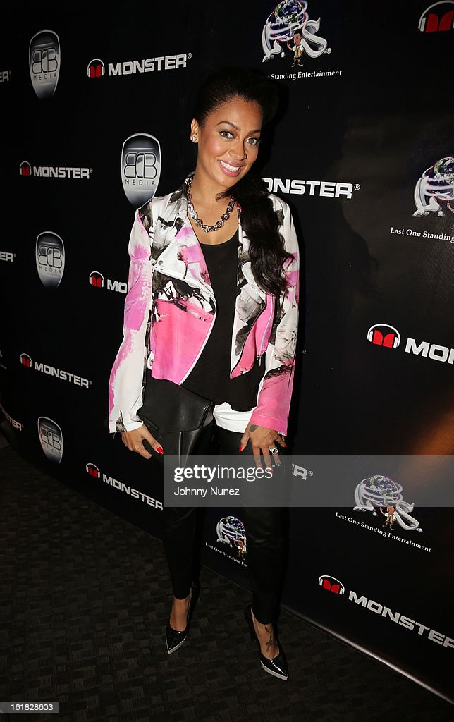 La La Anthony hosts The King Pin Celebrity Bowling Challenge at 300 Houston on February 16, 2013, in Houston, Texas.