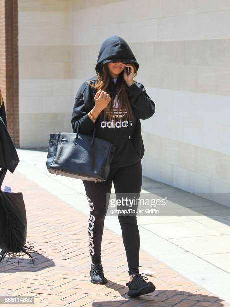La La Anthony is seen on May 24 2017 in Los Angeles California
