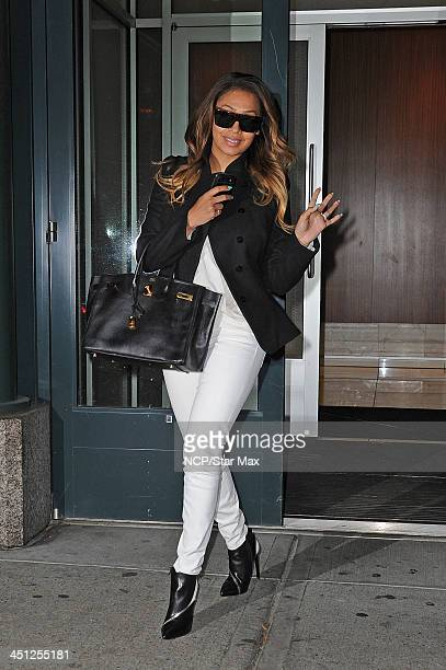La La Anthony is seen on November 21 2013 in New York City