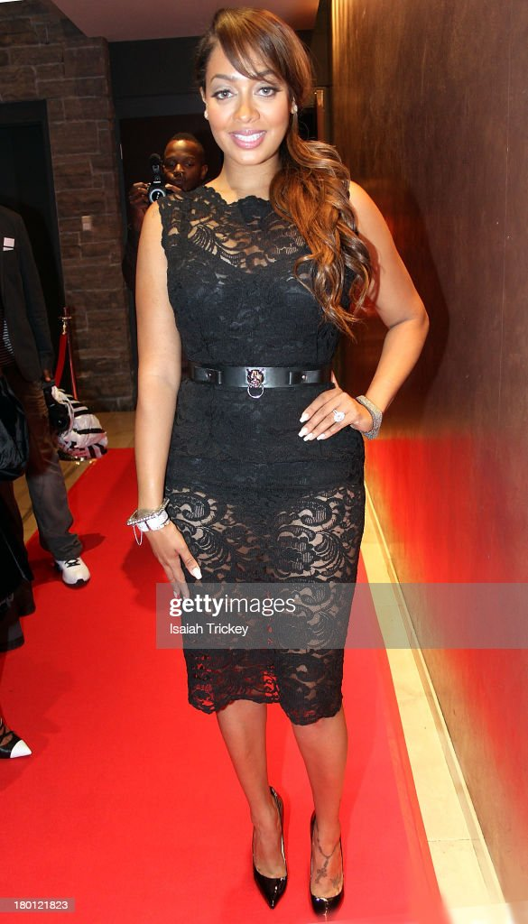 La La Anthony is sighted at Isabel Bader Theatre on September 8, 2013 in Toronto, Canada.