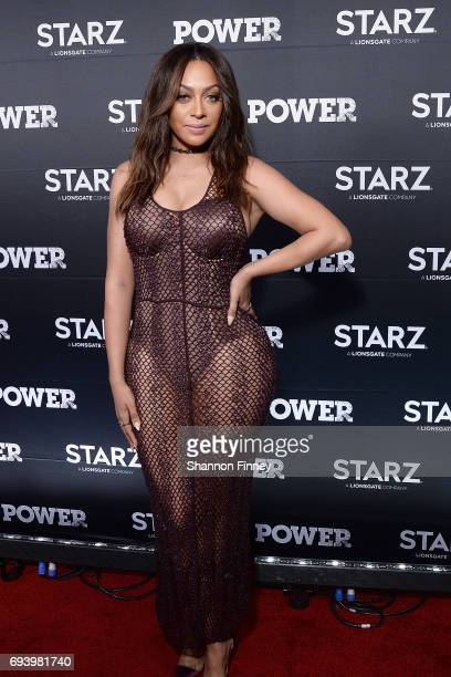 La La Anthony star of the Starz series 'Power' attends the Washington DC Season 4 premiere at The Newseum on June 8 2017 in Washington DC
