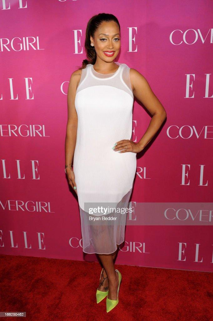 La La attends the 4th Annual ELLE Women in Music Celebration at The Edison Ballroom on April 10, 2013 in New York City.