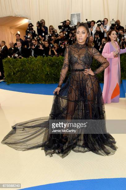 La La attends the 'Rei Kawakubo/Comme des Garcons Art Of The InBetween' Costume Institute Gala at Metropolitan Museum of Art on May 1 2017 in New...