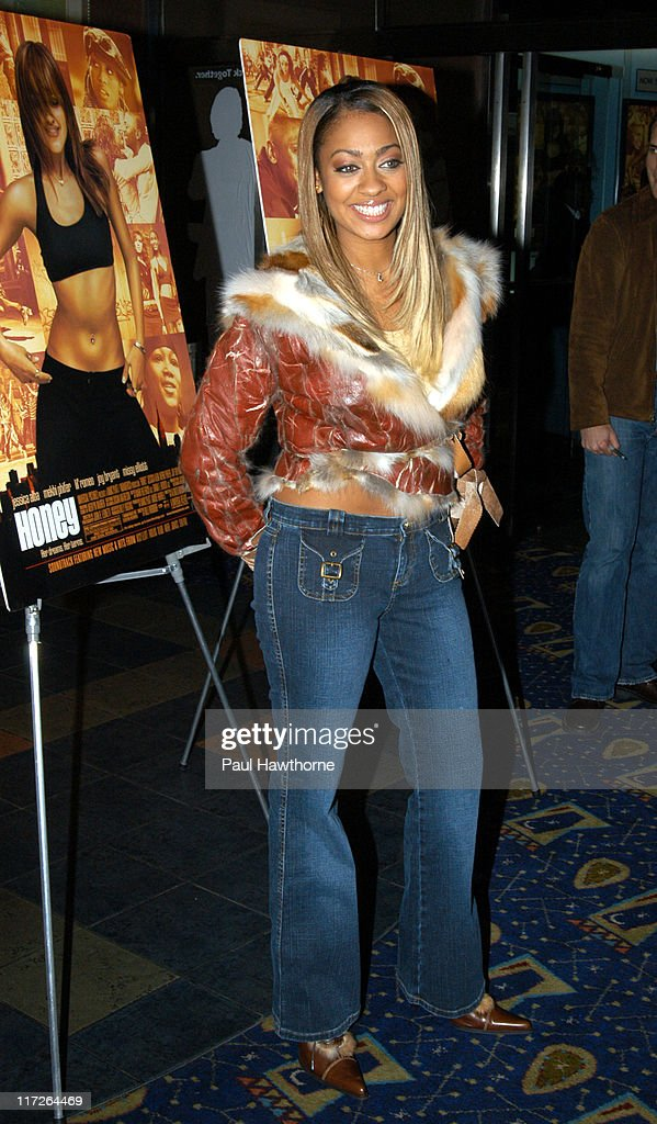 La La during Honey - New York Premiere - Inside Arrivals at Chelsea West Theater in New York City, New York, United States.