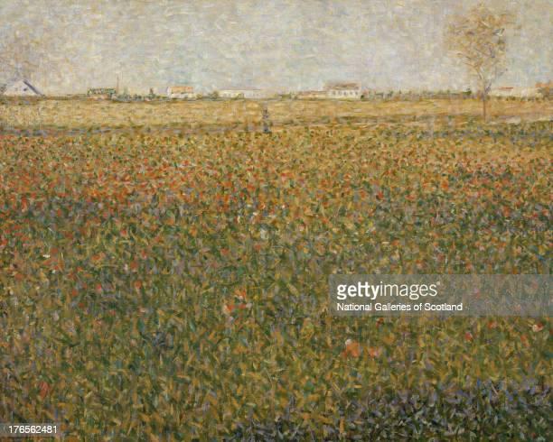La Luzerne SaintDenis by Georges Seurat 1885 Oil on canvas