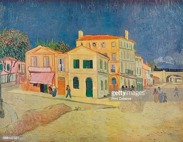 La Maison De Vincent A Arles' 1888 From Van Gogh Paintings introduction by Graham Reynolds Artist Vincent van Gogh Lindsay Drummond Ltd