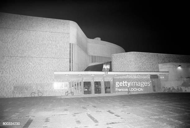 La Maison des Jeunes et de la Culture en novembre 1975 à Reims France