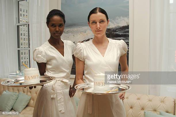 La Mer Models attends LA MER and OCEANA Party for WORLD OCEAN DAY 2008 at 620 Loft Garden on June 4 2008 in New York City