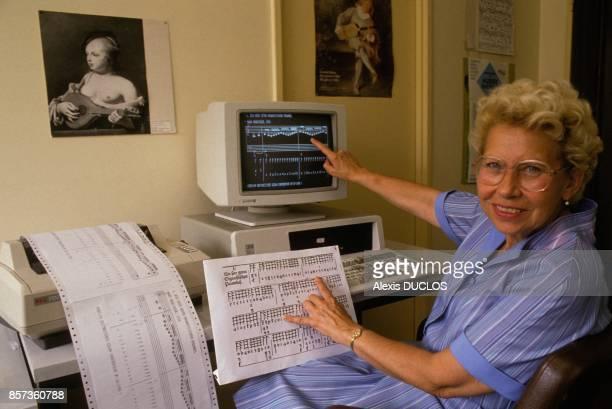 La musique ancienne sur ordinateur par Helene Charnasse musicologue et maitre de recherche au CNRS le 27 juillet 1988 a Paris France