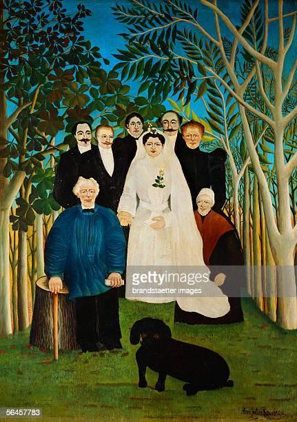 La Noce The Wedding Oil on canvas [La Noce Die Hochzeit Gemaelde]