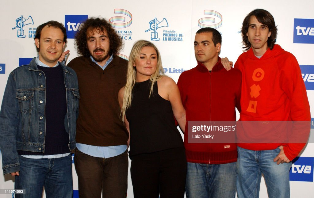 2004 Spanish Music Academy Awards - Madrid