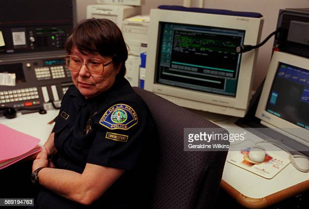 La Palma dispatcher Karen Morey of Anaheim is a former colleague of Port Angeles Washington deputy sheriff Wally Davis Davis a former La Palma police...