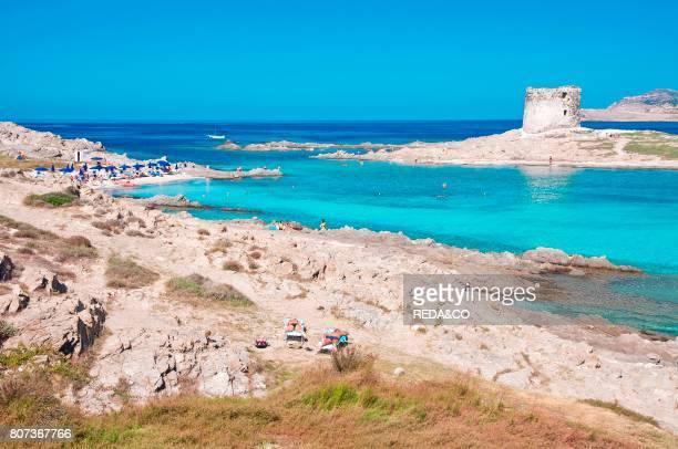 La Pelosetta beach Stintino Sassari Sardinia Italy Europe