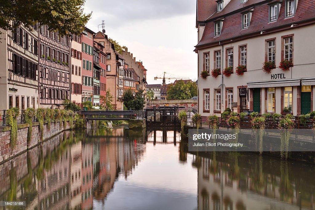 La Petite France in Strasbourg.