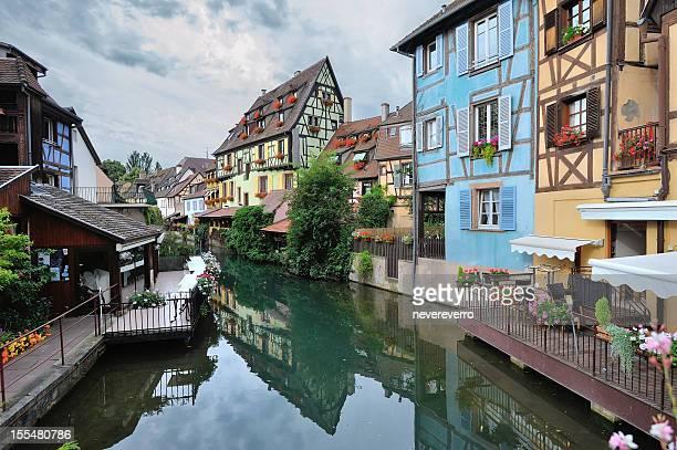 La Petite Venice in Colmar, France