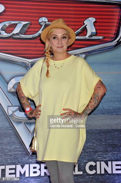 La Pina attends a photocall for Cars 3 on July 12 2017 in Rome Italy