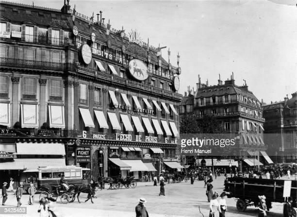 La Place de L'Opera in Paris France
