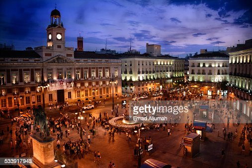 Puerta Del Sol Stock Photos And Pictures Getty Images