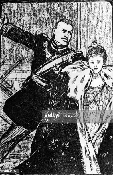La reine Wilhelmine des PaysBas et son époux le prince Henri de MecklembourgSchwerin