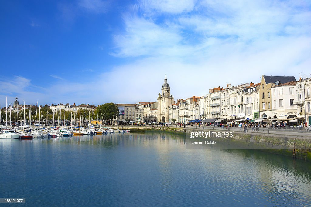La Rochelle, The Old Port, France