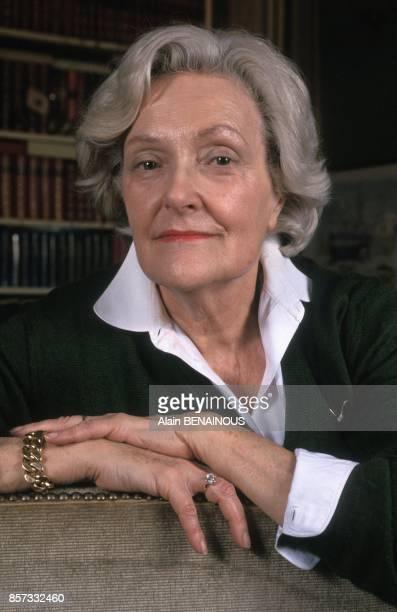 La romanciere Juliette Benzoni le 3 novembre 1992 en France